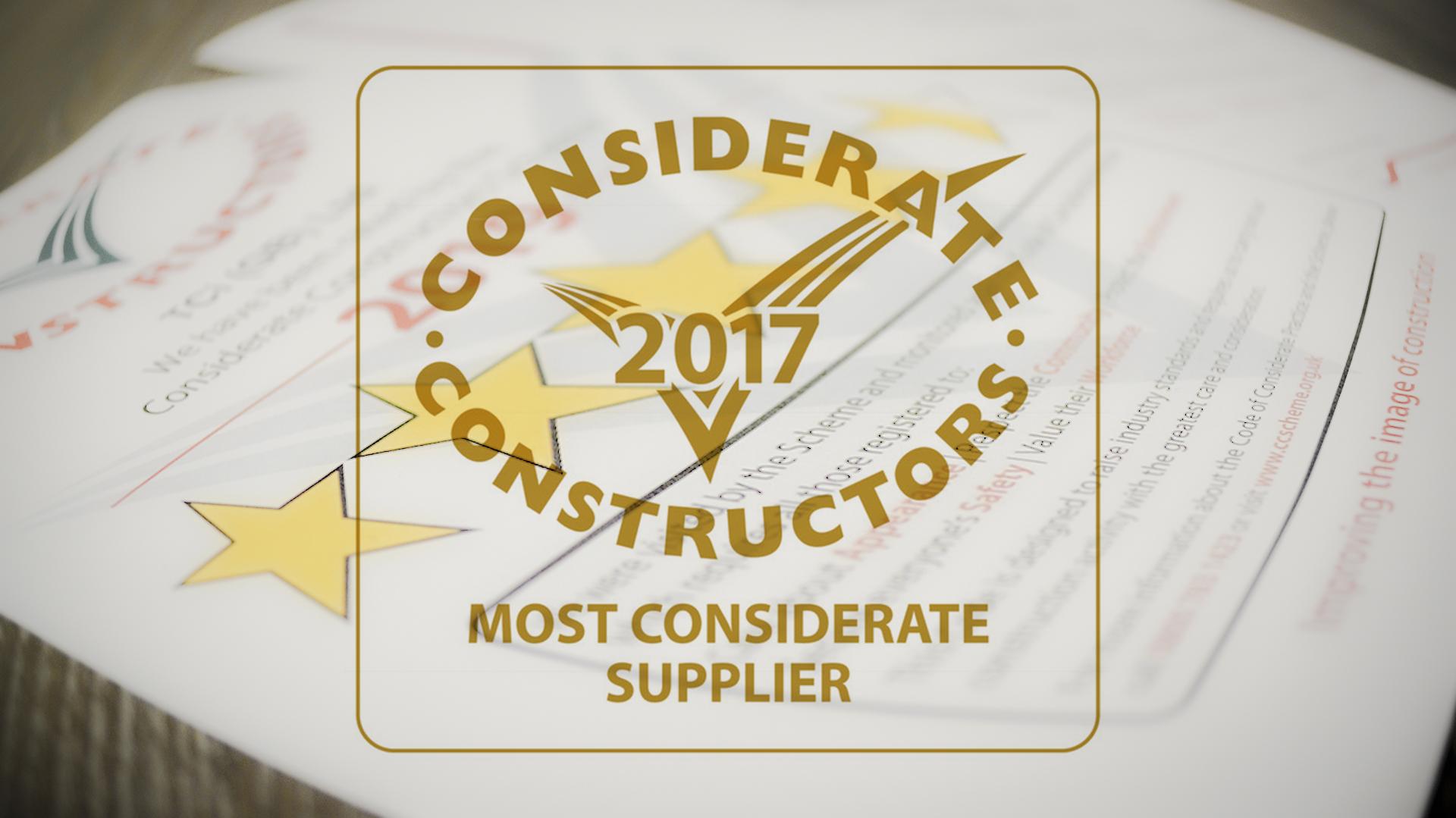 Considerate Constructors Scheme Success