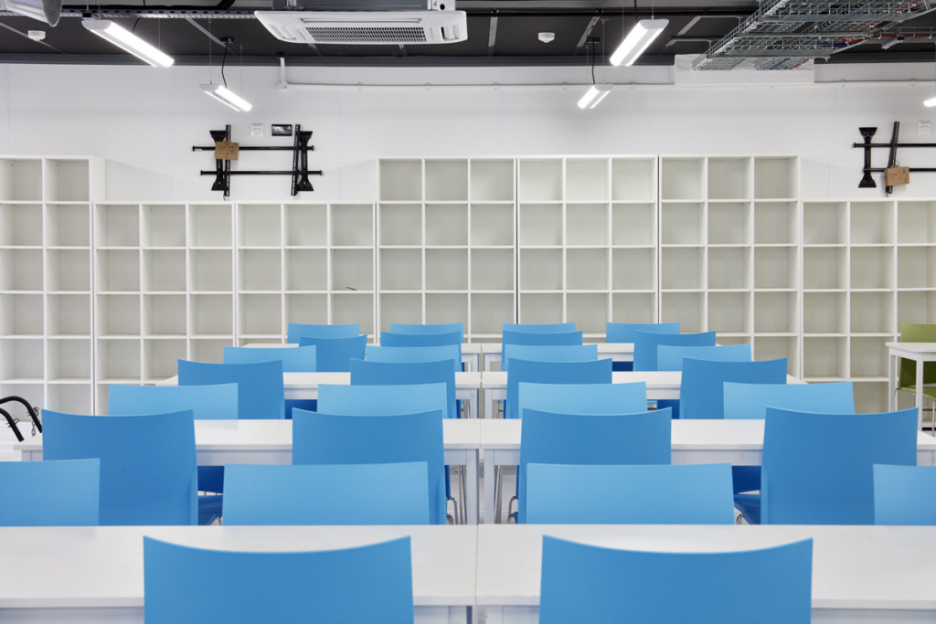 commonwealth-games-construction-site-office-furniture-supplier-canteen-pigeon-hole