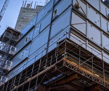 Site furniture management scheme saves waste at former New Scotland Yard