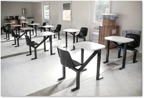 single-seater-canteen-table-covid-safe-construction-kitchen-refectory