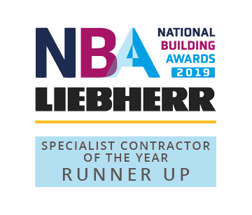 Runner Up Specialist Contractor OTY