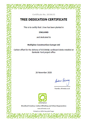 tree-ded-cation-certificate-carbon-offset-cardboard-desk-sustainability-multiplex
