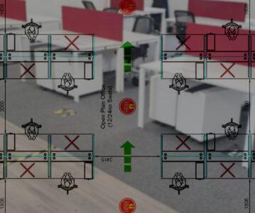 Designing COVID-19 secure workspaces