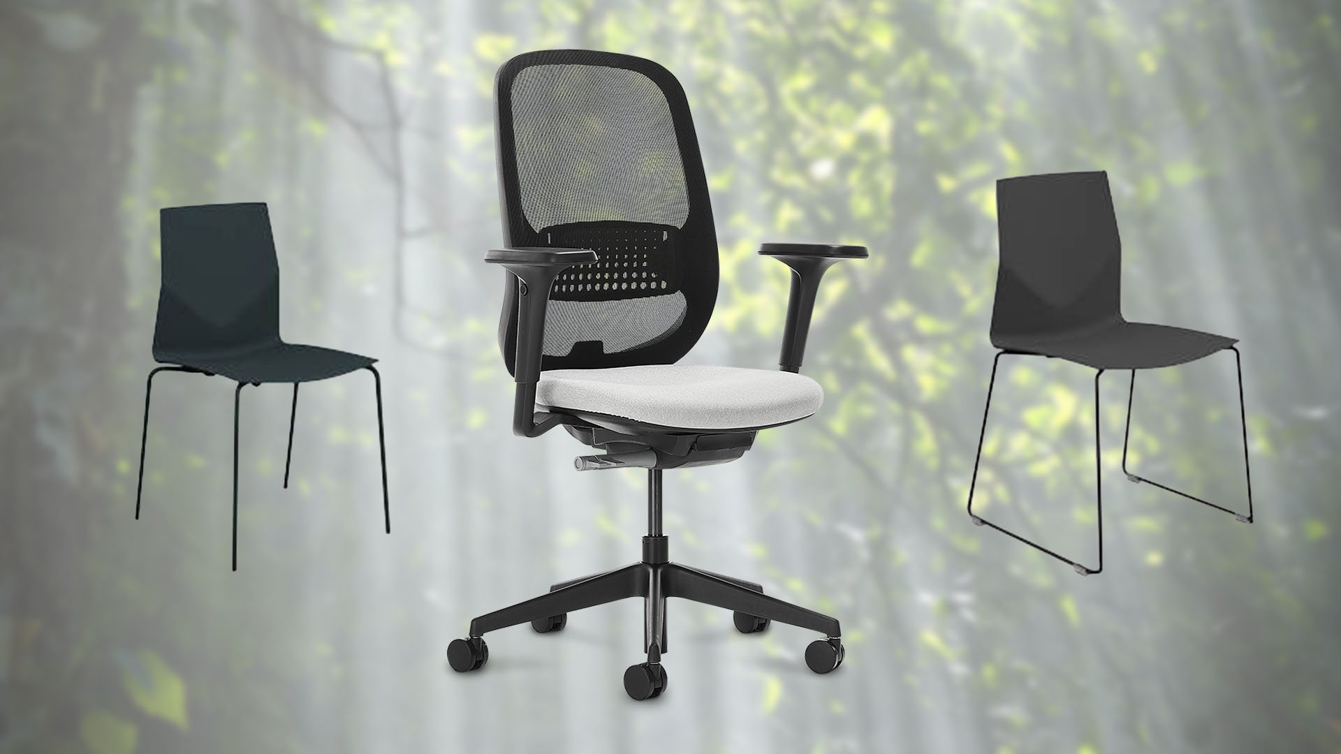 NEW! Recycled task chair and EU ECOlabel seats